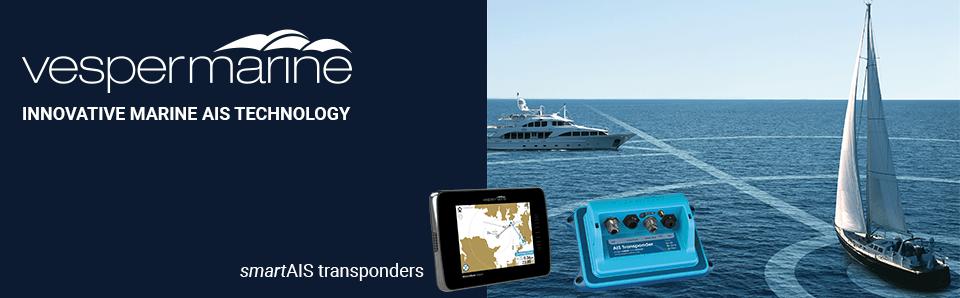 smartAIS transponders from Vesper Marine