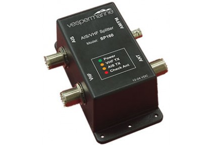 AIS VHF Antenna Splitter for Class B AIS Transponders