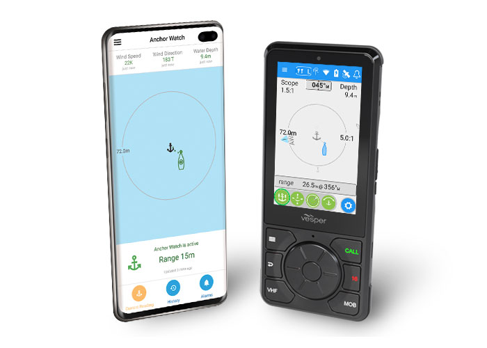 Anchor Watch on smartphone