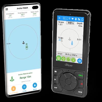 smartAIS Anchor Watch on Cortex